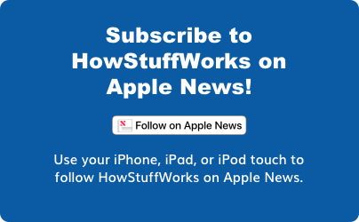 Subscribe to HowStuffWorks on Apple News