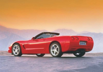 The 2001 Corvette convertible got a smoother-looking soft top with better sealing and sound insulation.