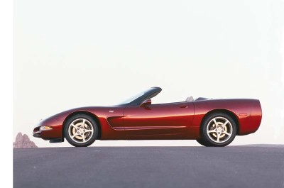 Production on the 2003 Corvette 50th Anniversary Edition was limited only by the number of orders for the $5,000 package.