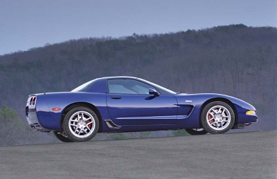 2004 Corvette Z06 models with the Commemorative Edition package got the first stock carbon-fiber hood offered in North America.