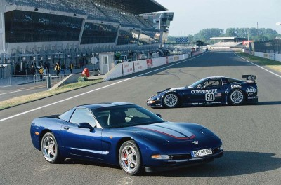 A Commemorative Edition package was available on all 2004 Corvettes.
