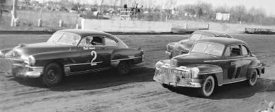 Bill Blair, driving the #2 Cadillac owned by Sam Rice.