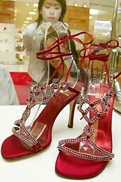 0613f212efa 5: Stuart Weitzman Ruby Slippers - Top 10 Most Expensive Shoes Ever ...