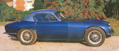 1959-1963 lotus elite blue side view