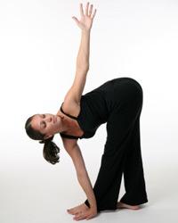 6 revolved triangle pose  10 yoga exercises for seniors