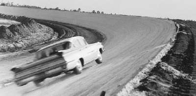 The banking at Daytona International Speedway was to be the steepest in the country, and it awed many drivers.