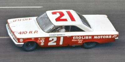 Glen Wood decided to go with Tiny Lund for the Daytona 500.