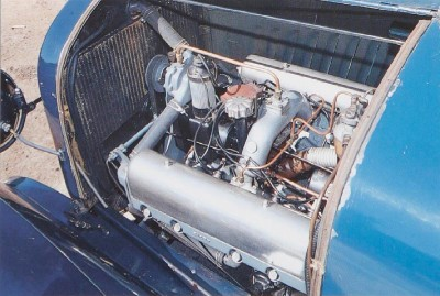 1917 Chevrolet Series D V-8 engine