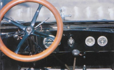 1919 Chevrolet Series 490 Roadster dashboard