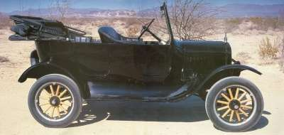 This 1923 Ford Model T incorporates some of the model's rare nods to styling.