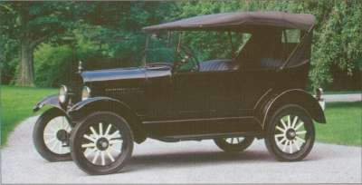 A new radiator design and longer hood were ushered in for the 1926 Ford Model T.