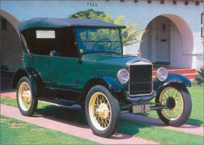 Style changes for the 1926 Model T included a new body for the tourer, 3.5 inches longer than its predecessors.