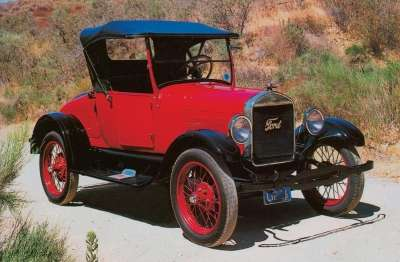 A stripped-down 1926 Ford Model T roadster could be purchased for $260.