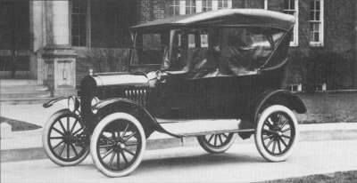 A buyer could get a 1923 Ford Model T tourer for just under $300 at the start of production.