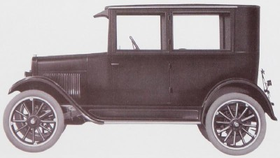 1924 Chevrolet Series F two-door coach