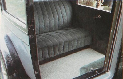 1927 Chevrolet Series AA Capitol interior