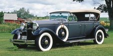 1931 Lincoln V-8 Model K phaeton, part of the 1930-1932 Lincoln V-8 Models L/K/KA