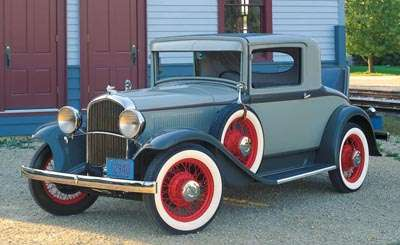 This 1932 Plymouth Model PA coupe was part of the 1930-32 Plymouth line.