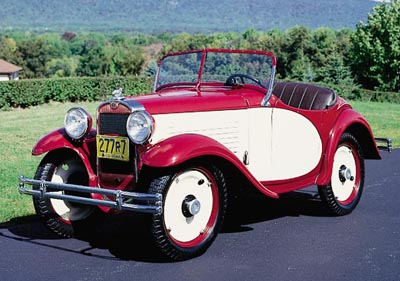This American Austin Model A Roadster was part of the 1930-34 American Austin line.