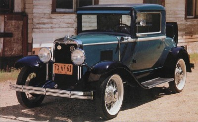 1930 Chevrolet Series AD Universal Sport Coupe