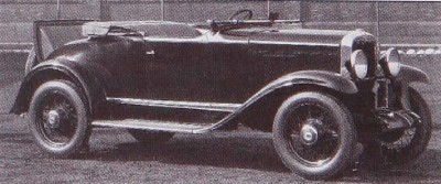 1930 Chevrolet Series AD Universal Sport Roadster