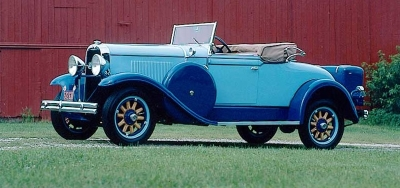 Only 233 F-30 Special Six convertible roadsters rolled off the line in 1930.