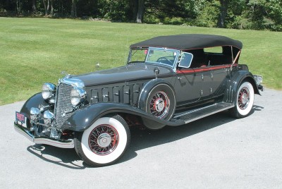 The 1933 Chrysler is truly a classic car.