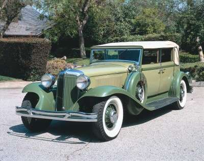1931 Chrysler Imperial Eight CG series Custom convertible sedan with body by LeBaron