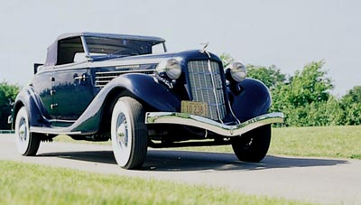 This 1931 Auburn 8-98 Speedster was part of the 1931-1936 Auburn Eight line.