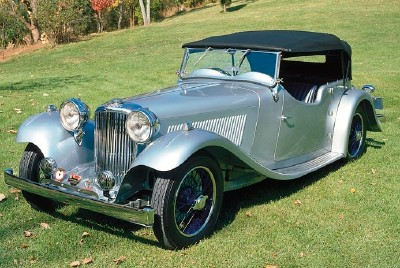 The 1936 SS I Tourer, part of the 1931-1936 SS I line