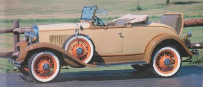 1931 Chevrolet Series AE Independence Sport Roadster