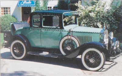 1931 Chevrolet Series AE Independence Sport Coupe