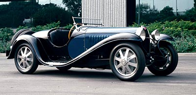 1932-1935 Bugatti Type 55 side view