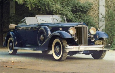 The 1933 Packard Twelve was extensively tested to ensure quality.