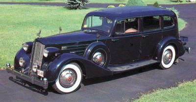 The elegant 1935 Packard Twelve delivered looks and performance.