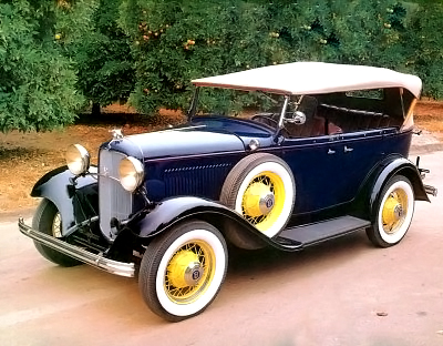 1932 Ford Model 18 phaeton V-8