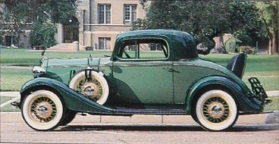 1933 Chevrolet Eagle Series Sport Coupe