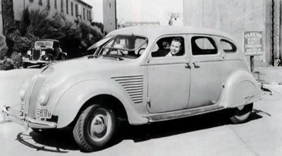 1934 DeSoto Series SE Airflow sedan