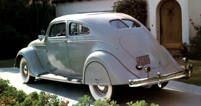 1935 Chrysler Series C1 Airflow Eight coupe