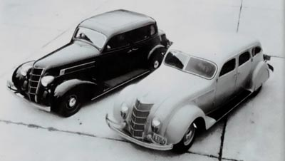 The 1935 Airflow and Airstream