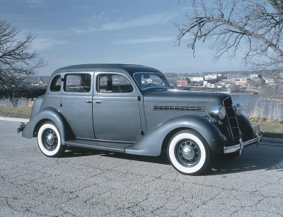 The 1935 Plymouths boasted major design and engineering advances.