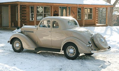 The 1935-1936 Plymouth models, including this 1935 Plymouth Deluxe, were a solid success