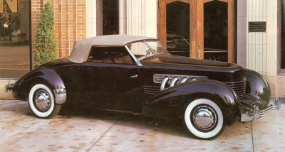 1937 Cord Supercharged 812 Sportsman
