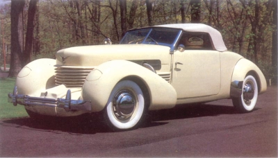 1937 Supercharged Cord 812 Sportsman