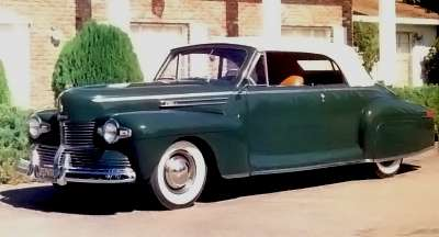 1941 Lincoln Zephyr full view