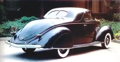1937 Lincoln Zephyr full view