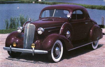 1936 chevy front