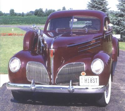1939 Studebaker Coupe-Express, front view