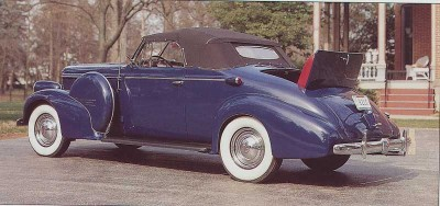 1938 Oldsmobile L-38, Rear