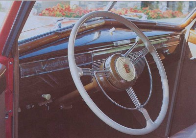 1939 Cadillac Series 90, Interior